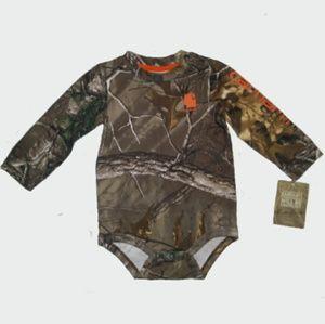 Carhartt Realtree Xtra Baby Bodyshirt